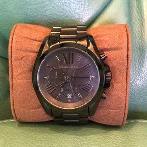 Michael Kors Women's Bradshaw Watch Black (MK5550)